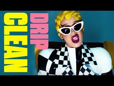 Cardi B - Drip (Clean) ft. Migos