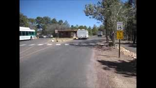 Grand Canyon New trailer Village 2015 newly paved roads and pads.