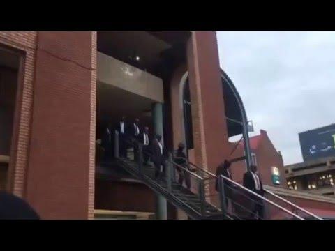 Video: President Jacob Zuma gets boos in Pretoria