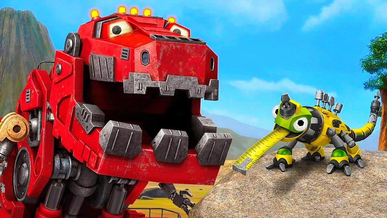 Механические Динозавры Роботы - Строительные Машины ...