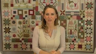 Roberta Live - Blocco del Mese - Alfabeto Ricamato