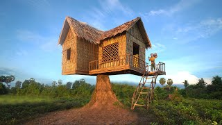 Build The Most Beautiful Highland House Use Ancient Skills
