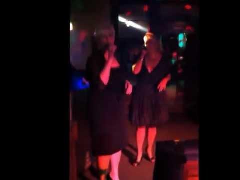 Lean on Me by Blonde & Blonder Karaoke  Aug 2012