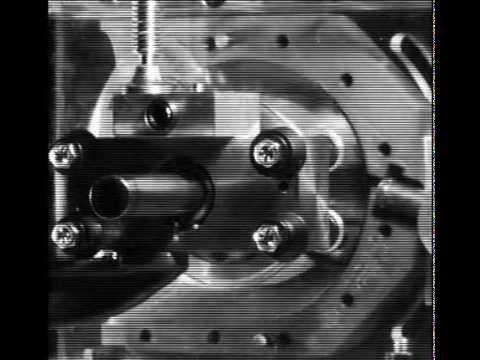 Toroidal Pneumatic Motor - Casing Removed - High Speed Camera .24x playback