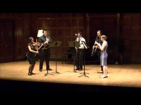 Stravinsky - Pastorale for Violin and Wind Quartet