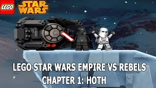 LEGO Star Wars Empire Vs Rebels Chapter 1 Hoth Gameplay