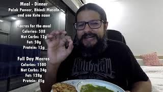 #BackToKeto - Day 43 - Vegetarian Keto Week Of Eating & Vegetarian Meal Plans