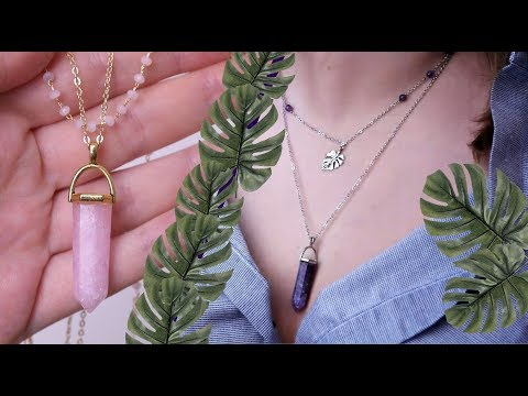 HOW TO MAKE RESIN CRYSTALS / DIY AMETHYST AND ROSE QUARZ BOHO NECKLACE