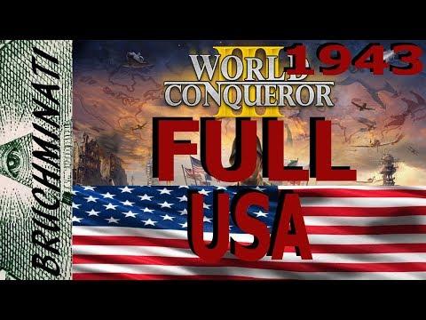 World Conqueror 3 USA 1943 Conquest FULL