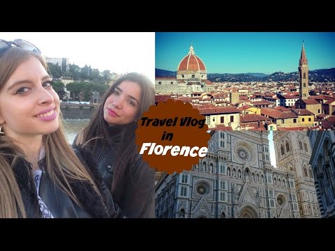 Travel Vlog~Φλωρεντία - Ερωτευμένες με το Σερβιτόρο