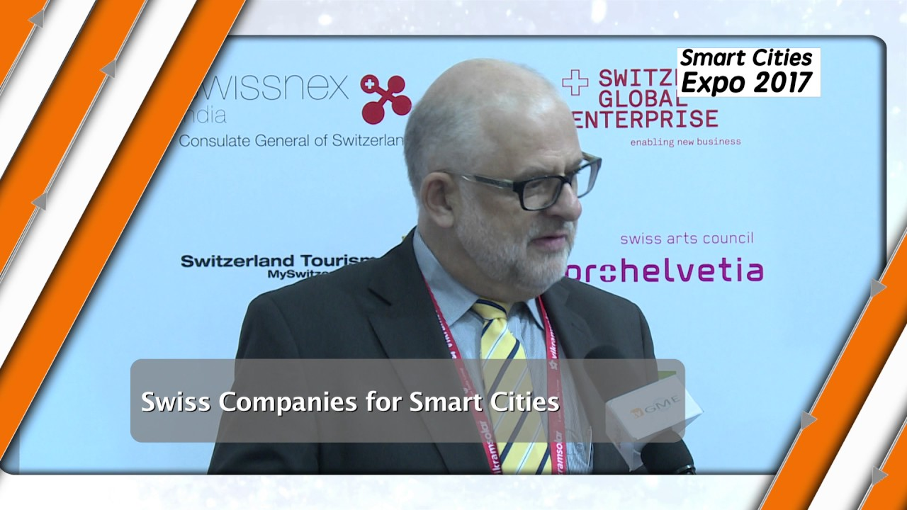 Smart Cities Companies from Switzerland at Smart City Expo India2017