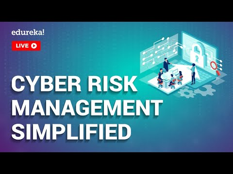 Cybersecurity Risk Management Simplified   Cybersecurity Tutorial   Cybersecurity Training   Edureka