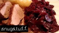 Blaukraut / Rotkohl verfeinert mit Äpfeln und Preiselbeeren , Rezept // Episode 0016