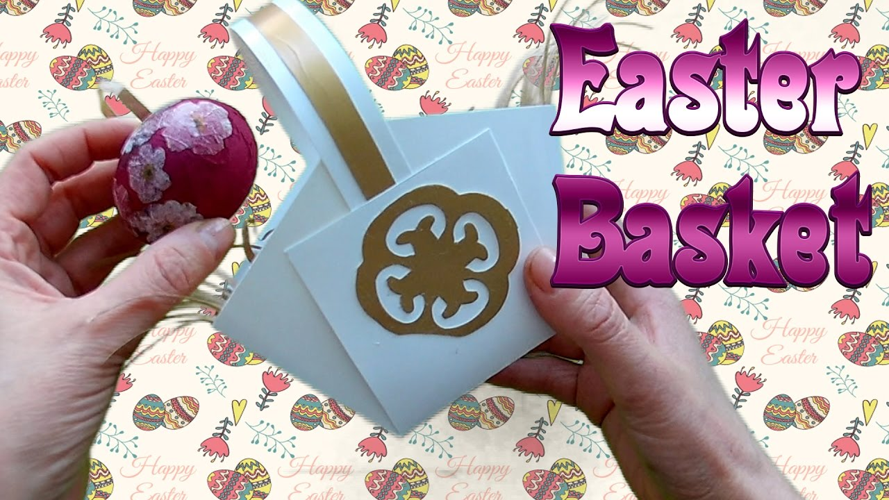 Easter 2017 how to make an easter basket do it yourself basket for easter 2017 how to make an easter basket do it yourself basket for two eggs solutioingenieria Image collections