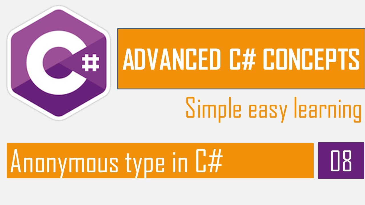 Anonymous Type in C# | Anonymous object | C# Bangla Tutorial | Advanced C#