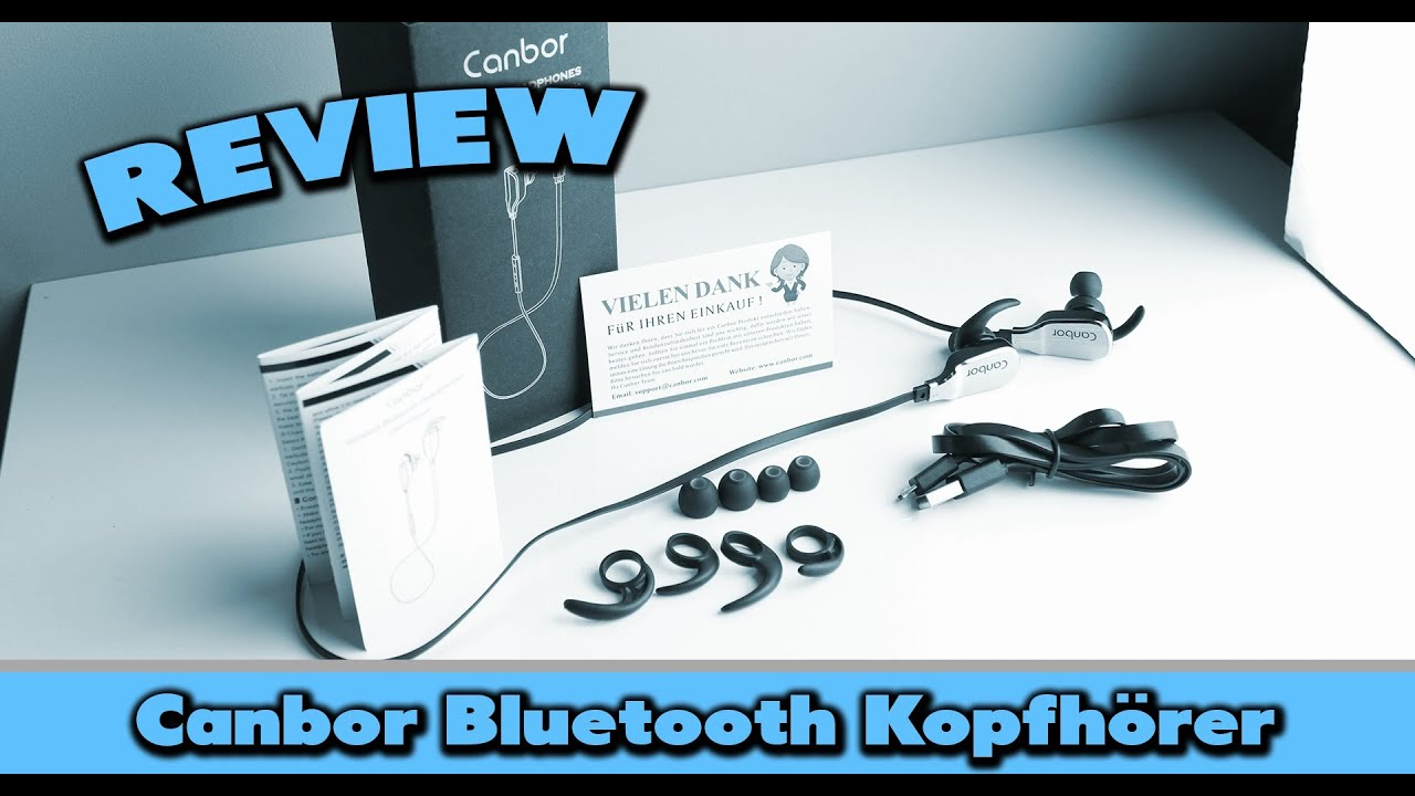 canbor bluetooth kopfh rer test deutsch youtube. Black Bedroom Furniture Sets. Home Design Ideas