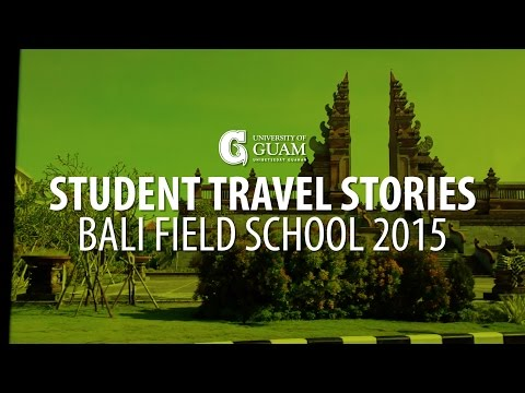 Student Travel Stories | Bali Field School 2015