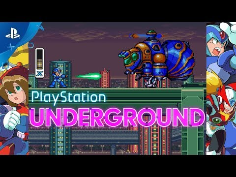Mega Man X Legacy Collection - PS4 Gameplay | PlayStation Underground