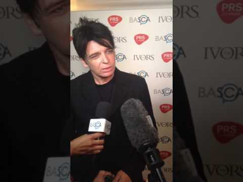 Ivor Novello Awards - Gary Numan 18/5/17