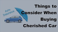 2017 Car Insurance Tips  | Important Aspects Before Buying Cherished Car Insurance