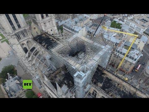 La policia francesa anuncia la posible causa del incendio de Notre Dame