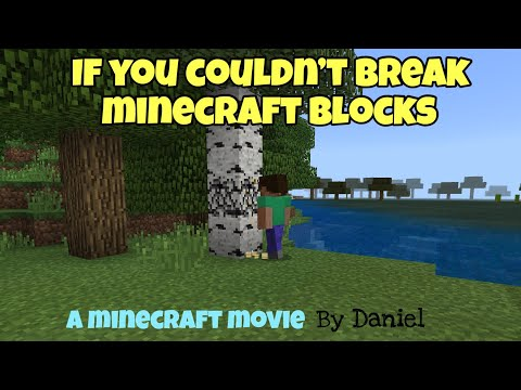 If you couldn't break blocks without a mining licence [1] minecraft