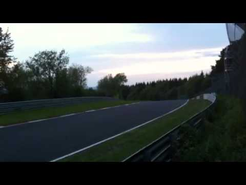 24 hours race Nurburgring 2012
