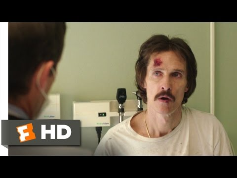 Dallas Buyers Club (1/10) Movie CLIP - You Tested Positive for HIV (2013) HD