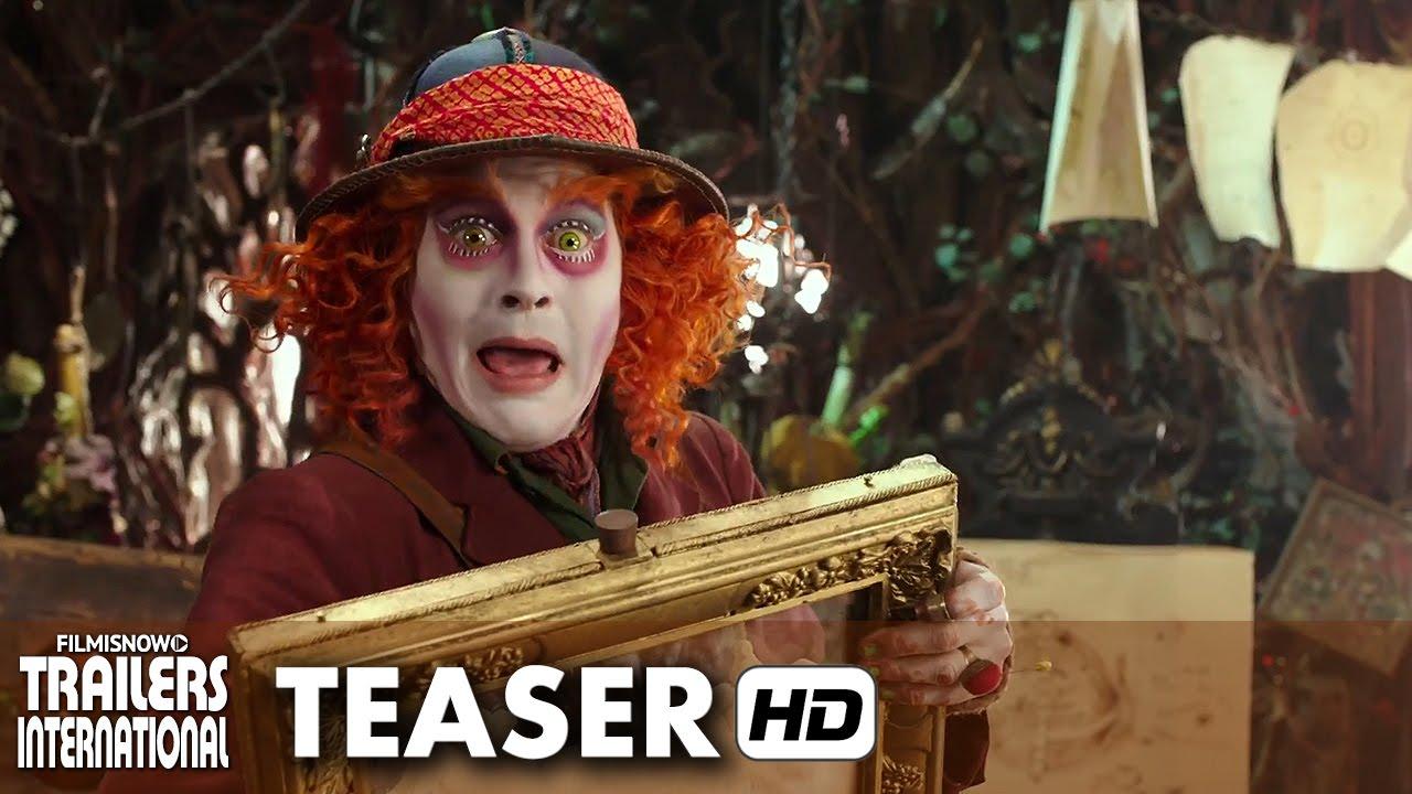 Alice Através do Espelho Trailer Teaser Legendado (2016) - Johnny Depp [HD]