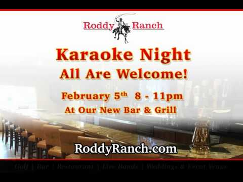 Roddy Ranch Karaoke