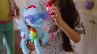 My Little Pony Singing Rainbow Dash Commercial