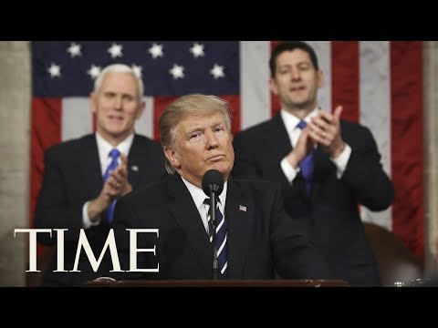 President Trump's First State Of The Union Address: Pledged