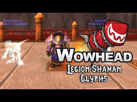 Legion Shaman Glyphs