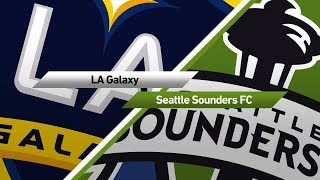Highlights: LA Galaxy vs. Seattle Sounders FC | July 29, 2017
