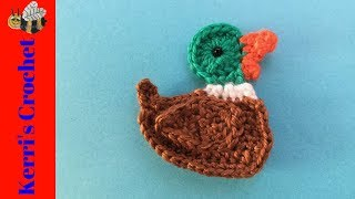 Mallard Duck Crochet Tutorial - Beginner Crochet Tutorial
