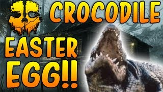 'COD GHOSTS' New Fog Map 'SECRET CROCODILE EASTER EGG' ONSLAUGHT DLC!