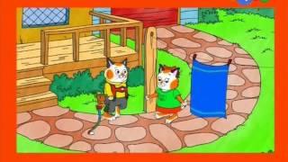 Невероятные расследования котёнка Хакли. 33.Цветное превращение-Металлический незнакомец