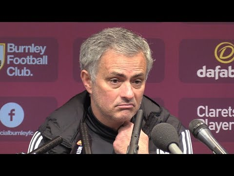 Burnley 0-1 Manchester United - Jose Mourinho Post Match Press Conference - Premier League #BURMUN