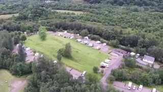 Glencoe Campsite And NTS Visitor Centre Aerial