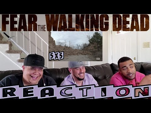 "FEAR THE WALKING DEAD SEASON 5 EPISODE 5 REACTION ""THE END OF EVERYTHING"""