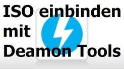 ISO in virtuelles Laufwerk einbinden (Deamon Tools Lite)