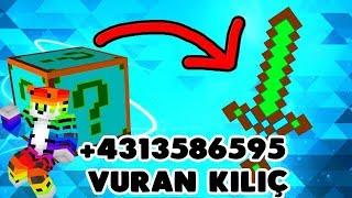 Bazuka vs +43135865  vuran kılıç ! Minecraft : Plural Lucky Block Wars
