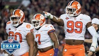 Clemson's UNREAL Defensive Line Full Draft Profile
