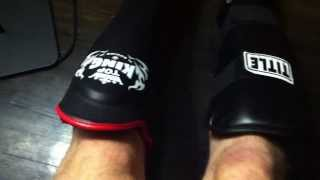 Shin Guard Review - Top King vs. Title Vinyl Shin/Instep Guard for Muay Thai