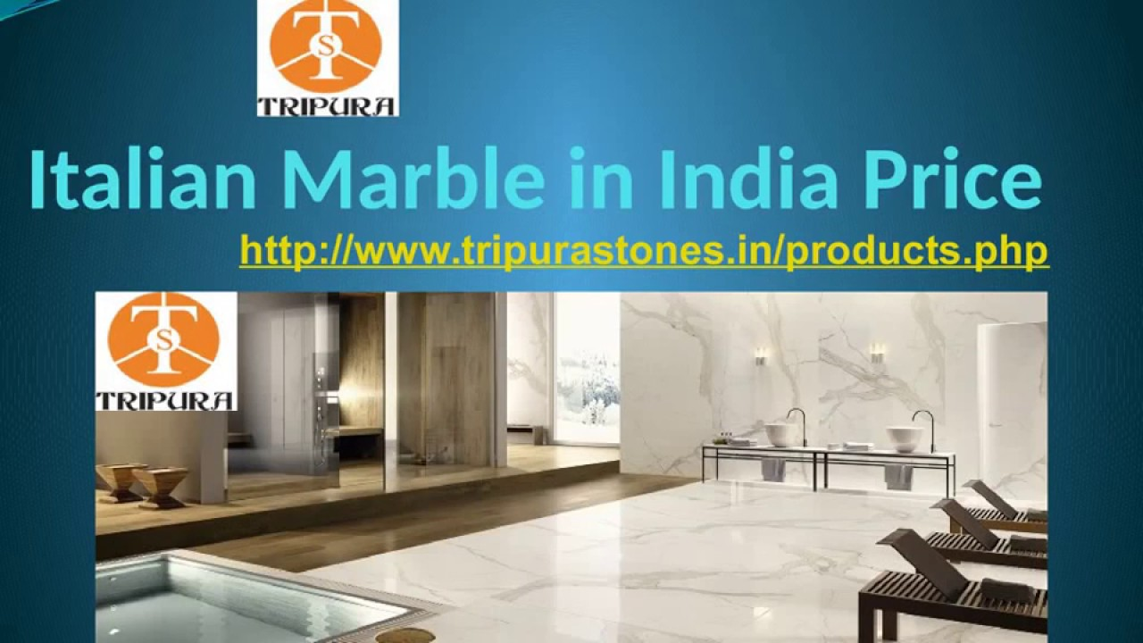 Italian Marble in India Price - YouTube