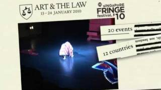M1 Singapore Fringe Festival 2010: Art And The Law