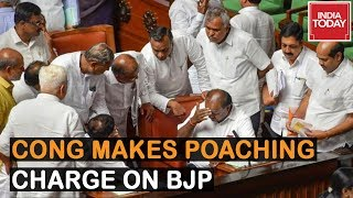 Karnataka Floor Test: Congress Makes Abduction Charge & Accusing BJP Of Poaching