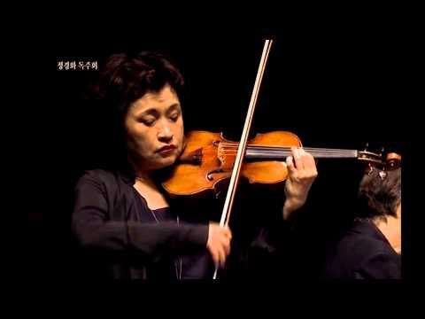 Kyung Wha Chung plays Bach violin sonata BWV1017 - I. Sciliano (Largo)