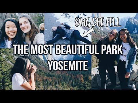 THE MOST BEAUTIFUL PARK EVER! YOSEMITE USA VLOG #3