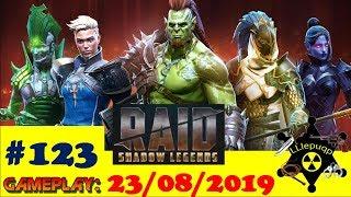 #123. Герои с пеленой (разбираем всех)| RAID: Shadow Legends  | 23/08/2019